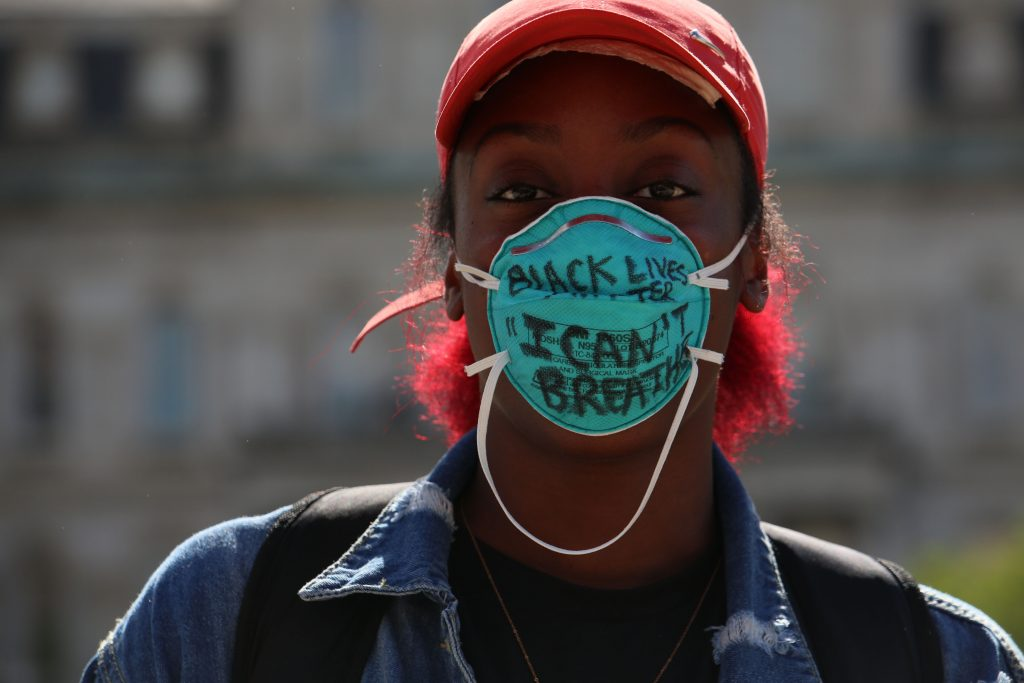 """""""Can't Breath N95 and Social Justice"""" by Robyn Stevens Brody"""